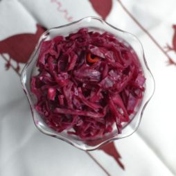 Spiced Red Cabbage Relish