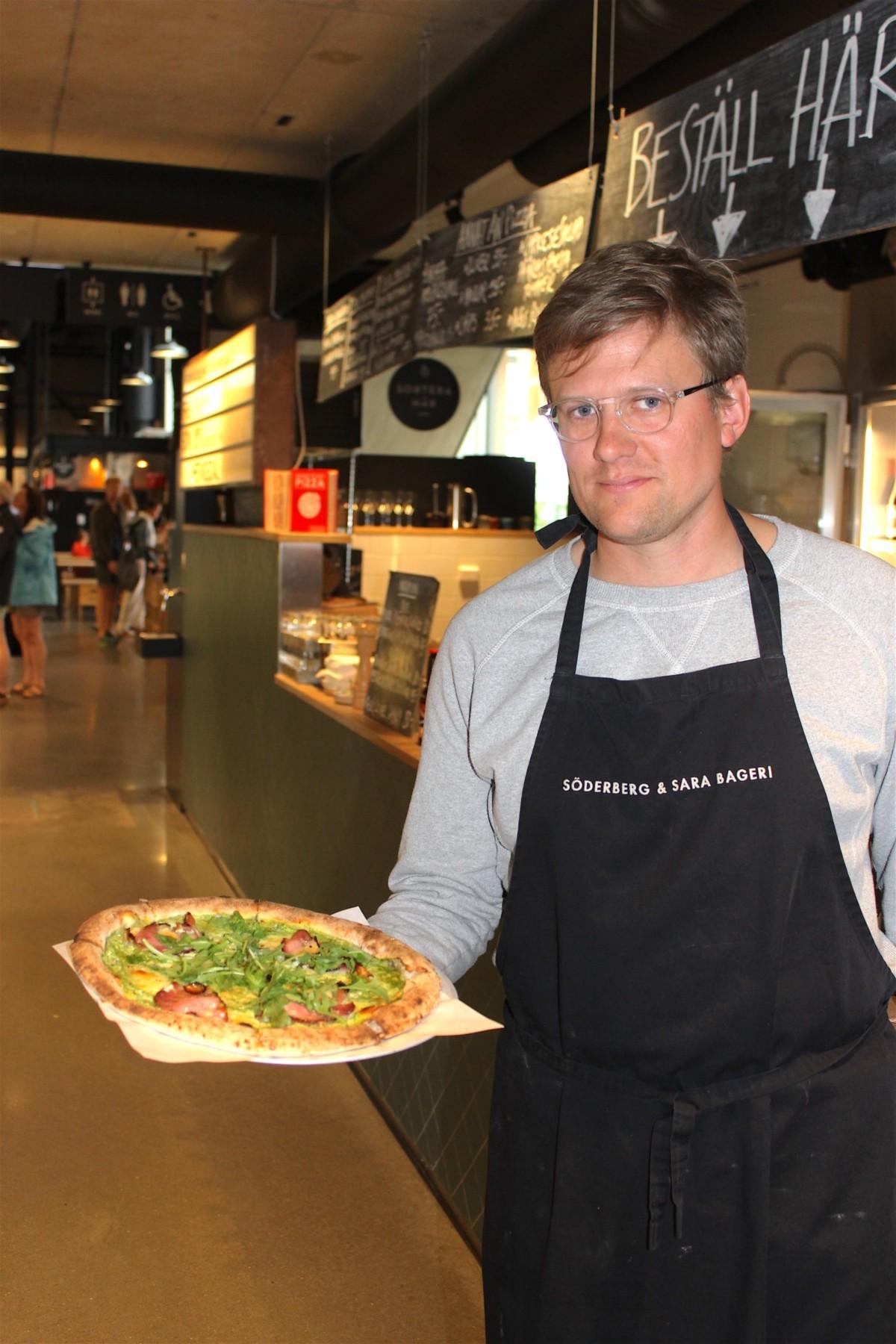 Salluhal Pizza