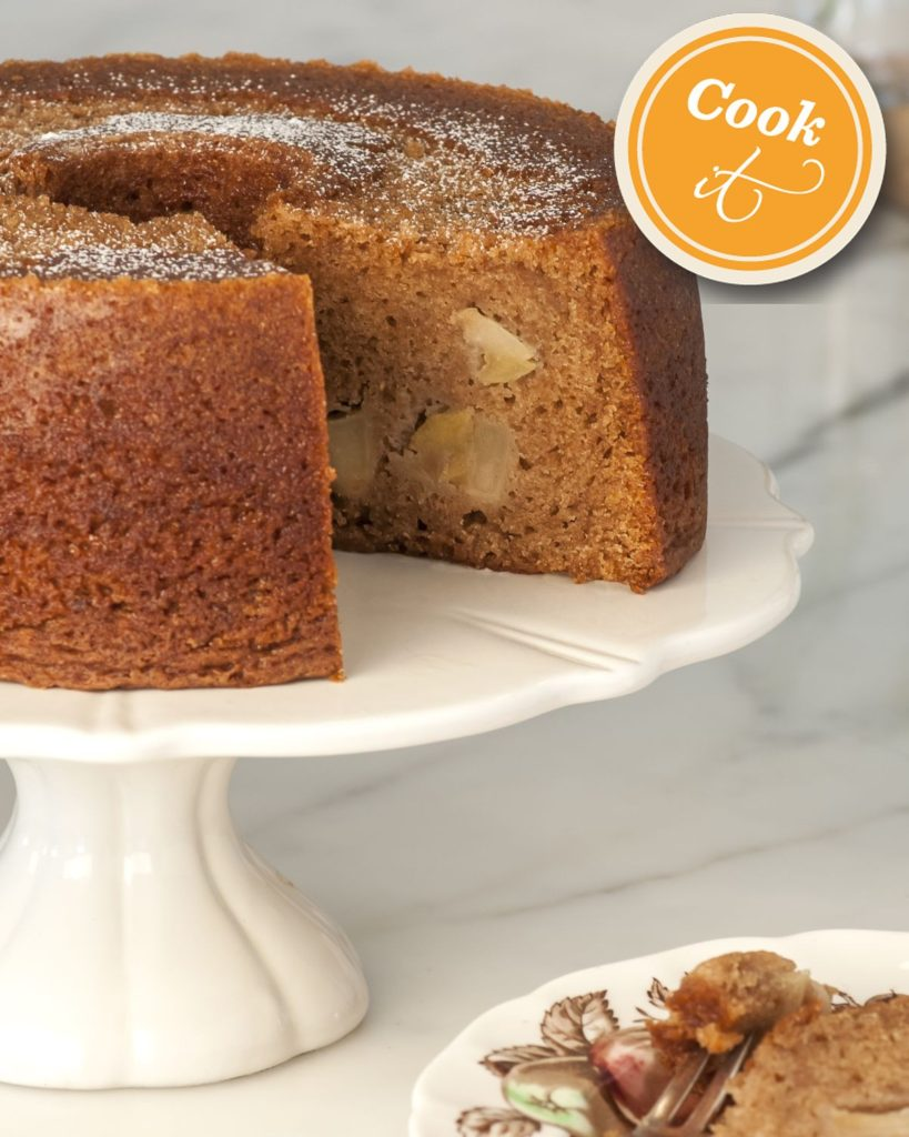 Honey & Apple Cake