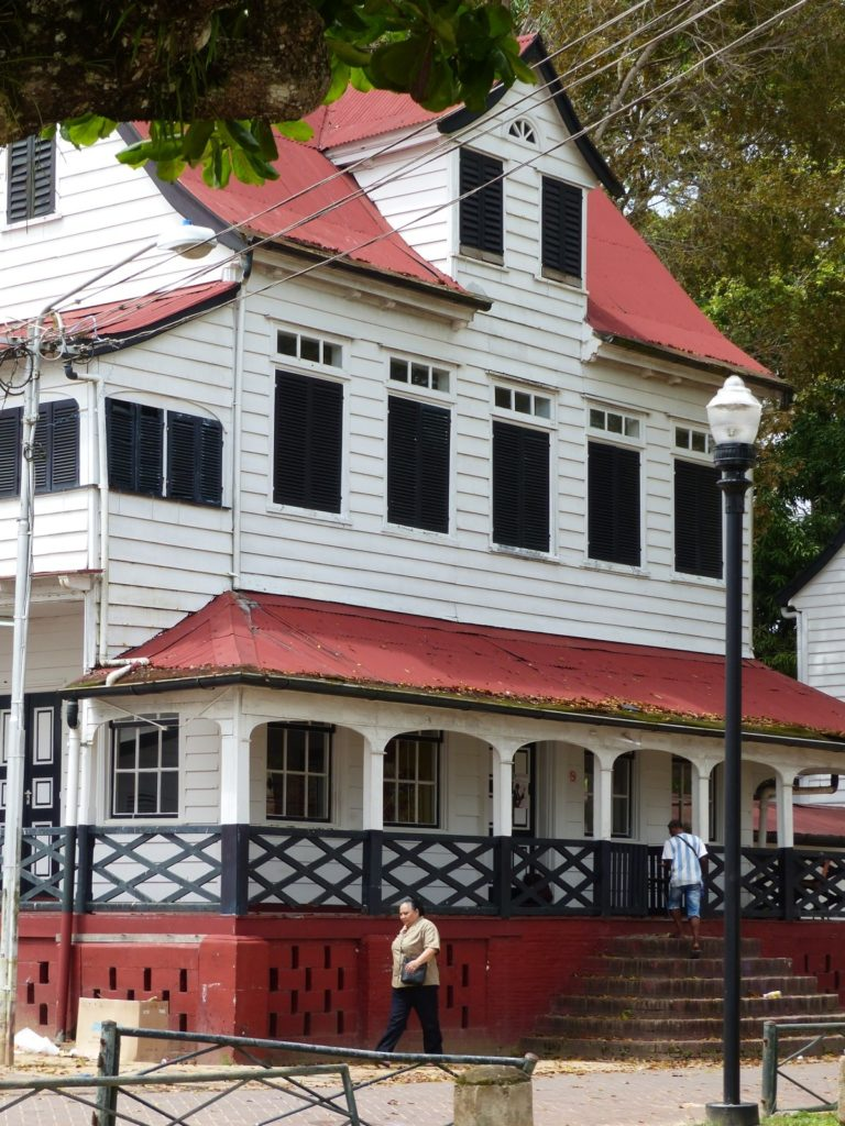 Dutch-Creole architecture in central Paramaribo