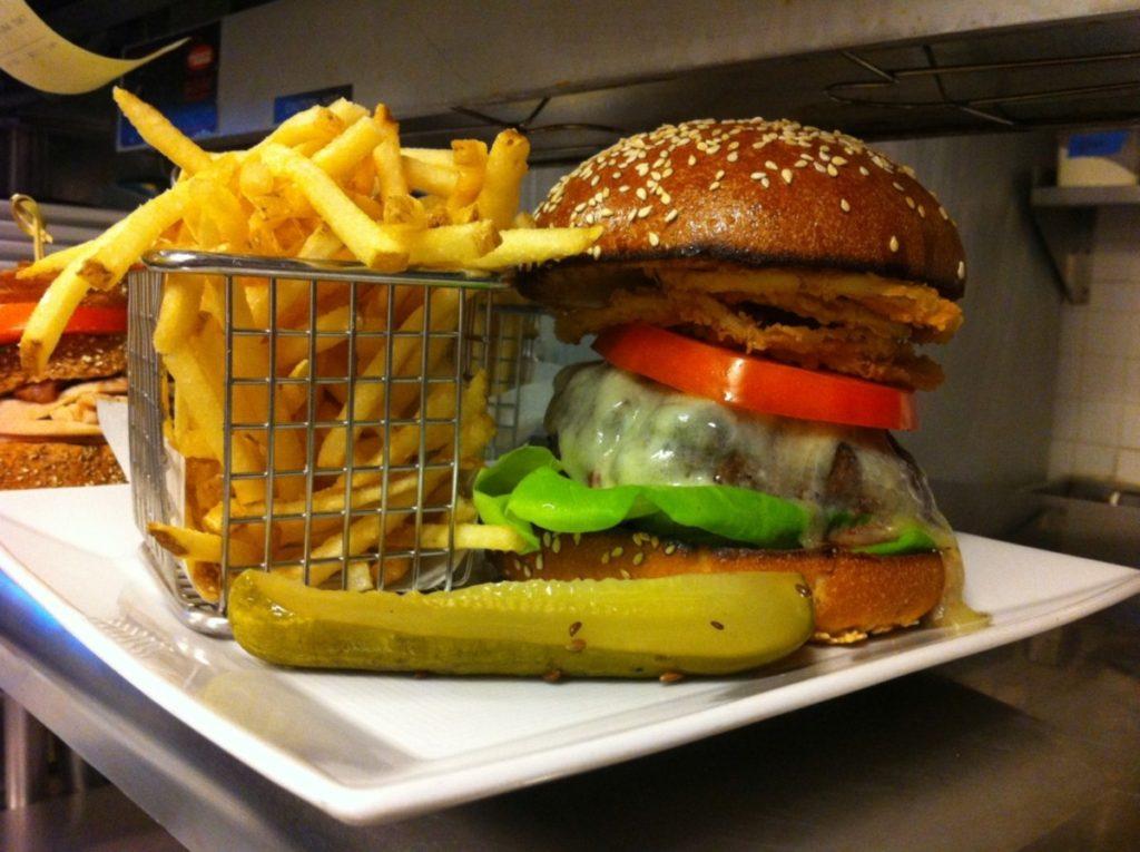 four seasons burger