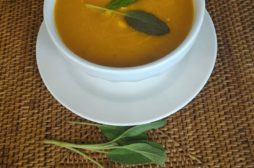 squash soup with sage