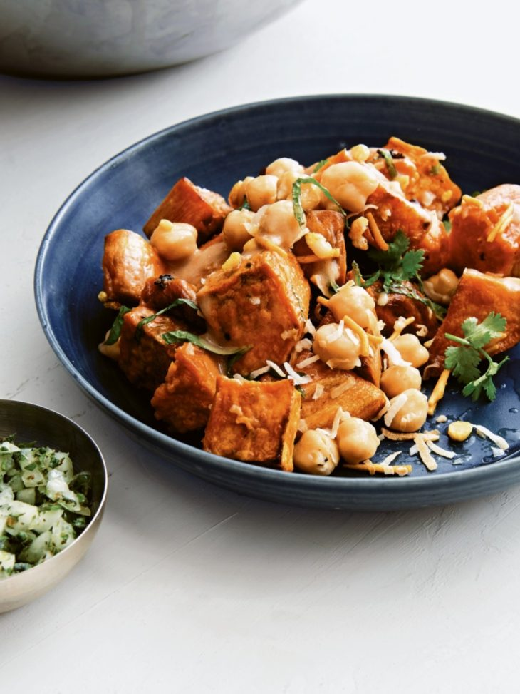 Recipe Sweet Potatoes and Chickpeas