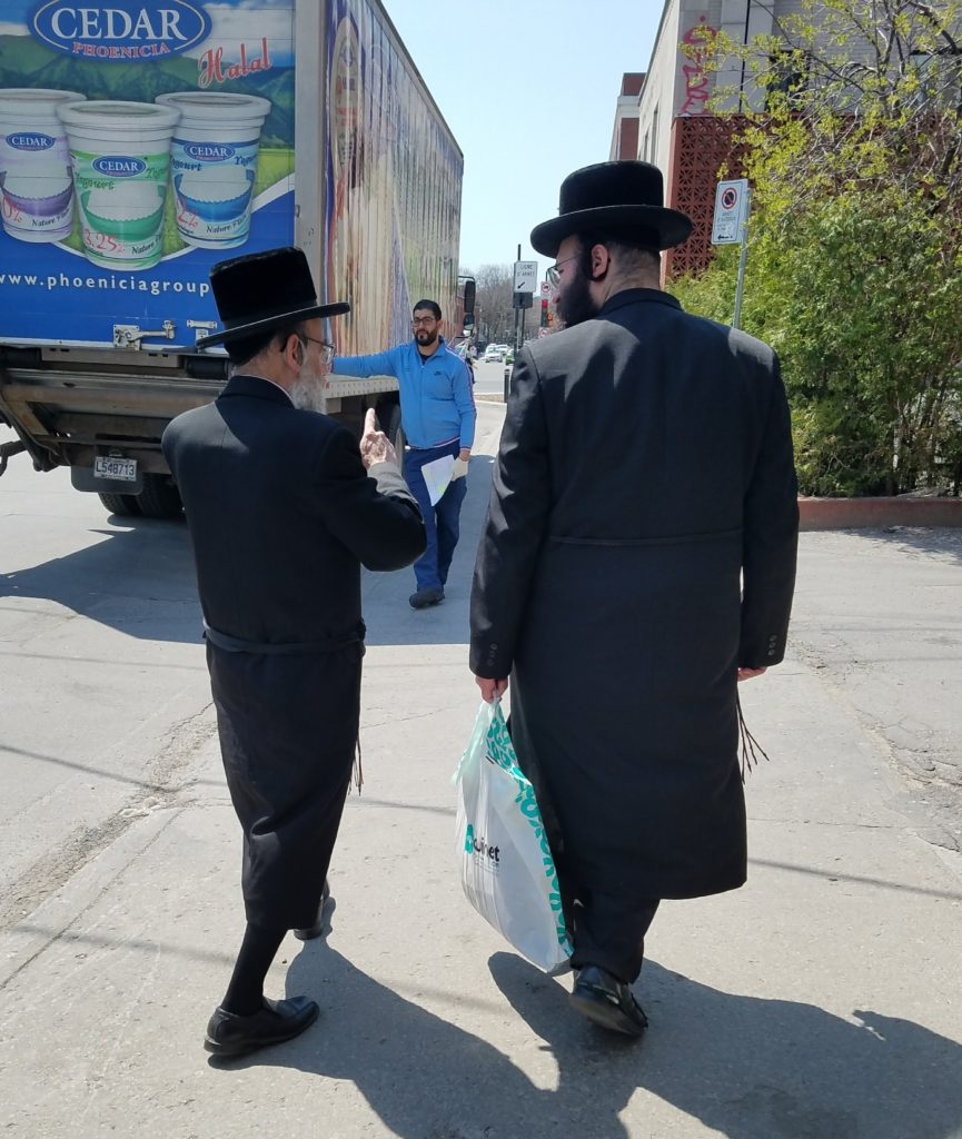 Life in the Jewish quarter