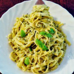 Butter Basil Pasta