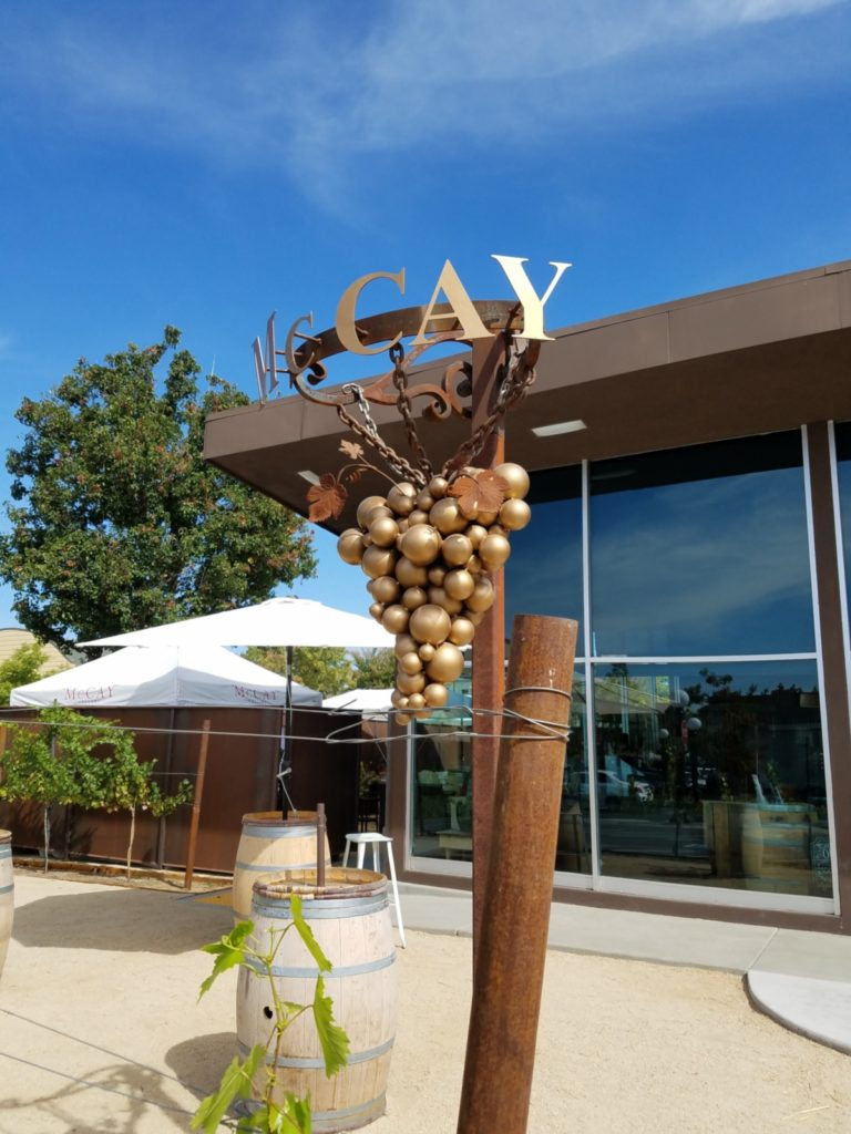 McCay Cellars tasting room
