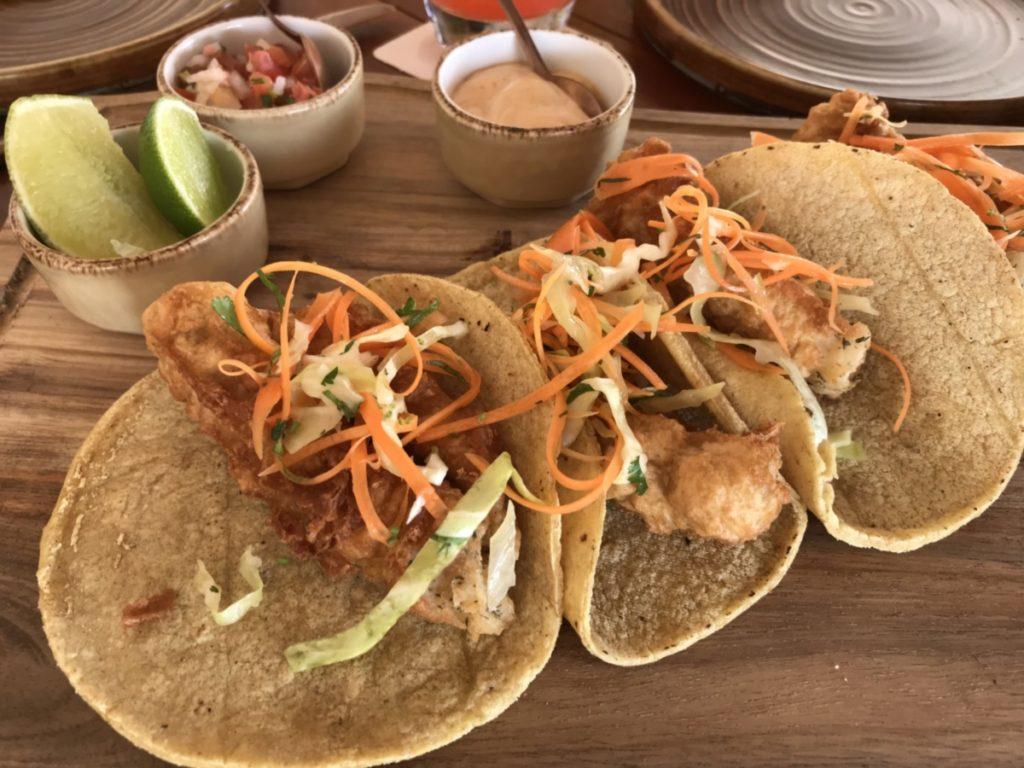 Hotel Xcaret tacos