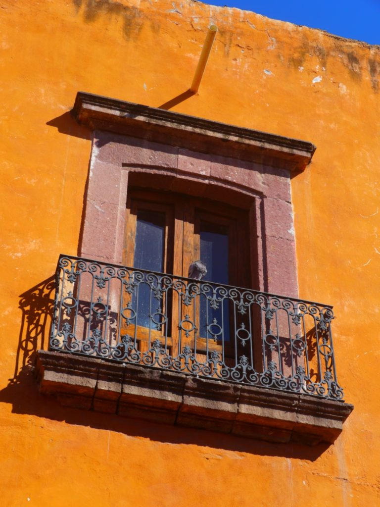 Balcony in San Miguel de Allende.