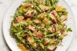 Potato and Rocket Salad with Orange