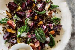 Tricolour Beet & Lentil Salad