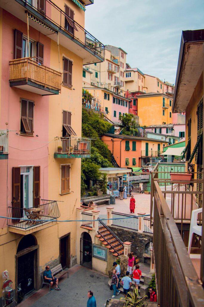 Village life in Cinque Terre